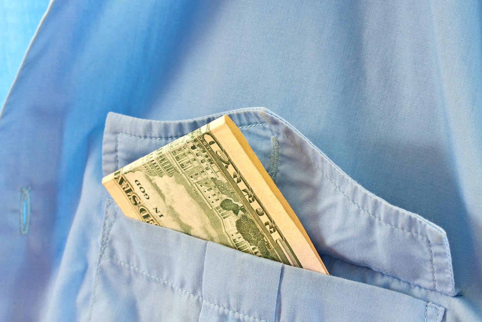 Employee with Stolen Cash